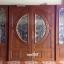 ประตูไม้สักกระจกนิรภัย ชุด4ชิ้น รหัส AAA30 thumbnail 1