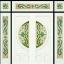 กระจกนิรภัยสเตนกลาส, ประตูไม้สัก รหัส G56 thumbnail 1