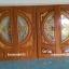 ประตูไม้สักกระจกนิรภัย สีสักทอง เกรดA รหัส A93 thumbnail 2
