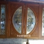 ประตูไม้สักกระจกนิรภัย บานเฟี้ยม ชุด4ชิ้น รหัส AAA53 thumbnail 1