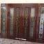 ประตูไม้สักกระจกนิรภัย แกะองุ่น เกรดA รหัส AAA47 thumbnail 3
