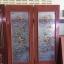 ประตูไม้สักกระจกแกะลายปลา เกรดA รหัส A86 thumbnail 1