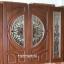 ประตูไม้สักกระจกนิรภัย ชุด 4ชิ้น รหัส AAA97 thumbnail 1