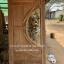 ประตูไม้สักกระจกนิรภัย เกรดB+, B รหัส AB17 thumbnail 1