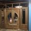 ประตูไม้สักกระจกนิรภัยบานเลื่อน ชุด7ชิ้น เกรดA รหัส NOT08 thumbnail 2