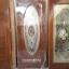 ประตูไม้สักกระจกนิรภัย วงรี เกรดA รหัส A64 thumbnail 1