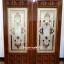 ประตูไม้สักกระจกนิรภัย รหัส A02 thumbnail 1