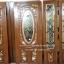ประตูไม้สักกระจกนิรภัยวงรีแกะฟักทอง รหัส AAA149 thumbnail 1