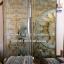 กระจกนิรภัยสเตนกลาส, ประตูไม้สัก รหัส G67 thumbnail 1