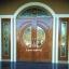 ประตูไม้สักกระจกนิรภัย ชุด5ชิ้น บานเปิด-ปิด รหัส AAA18 thumbnail 1