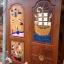 ประตูไม้สักบานเดี่ยว แกะเรือปลา เกรดA, B+ รหัส C65 thumbnail 1