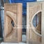 ประตูไม้สักกระจกนิรภัย เกรดA รหัส AB22 thumbnail 1