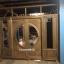ประตูไม้สักกระจกนิรภัยบานเลื่อน ชุด7ชิ้น เกรดA รหัส NOT08 thumbnail 3