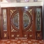 ประตูไม้สักกระจกนิรภัย ชุด4ชิ้น เกรดA รหัส AAA49 thumbnail 1