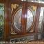 ประตูไม้สักกระจกนิรภัยแกะหงส์มังกร ชุด7ชิ้น รหัส AAA57 thumbnail 2