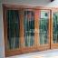 ประตูไม้สักกระจกนิรภัย ชุด4ชิ้น รหัสAAA112 thumbnail 2