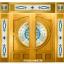 กระจกนิรภัยสเตนกลาส ชุด7ชิ้น รหัส G25 thumbnail 1