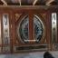ประตูไม้สักกระจกนิรภัย ชุด7ชิ้น รหัส AAA107 thumbnail 2