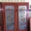 ประตูไม้สักกระจกแกะลายปลาคราฟ เกรดA, B+ รหัส A120 thumbnail 1