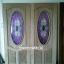 ประตูไม้สักกระจกนิรภัยวงรี แกะองุ่น เกรดA รหัส AA20 thumbnail 1