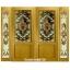 กระจกนิรภัยสเตนกลาส รางทอง ชุด4ชิ้น รหัส G27 thumbnail 1
