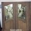 ประตูไม้สักกระจกนิรภัย เกรดA thumbnail 1