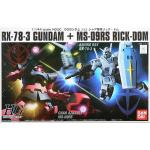 1/144 HGUC RX-78-3 Gundam + MS-09RS Rick Dom Char`s Custom Set