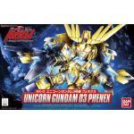 SD BB 394 Unicorn Gundam 03 Phenex