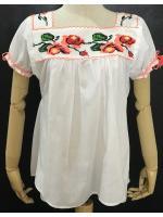 เสื้อปักครอสติช (Mexican Blouse cross stitch)