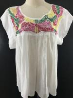 เสื้อวินเทจ Vintage Embroidery Blouses
