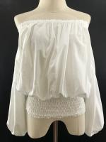 เสื้อวินเทจ White Blouse ( MADE IN INDIA )