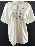 เสื้อวินเทจ เสื้อปักมือ Hand Embroidered Blouse