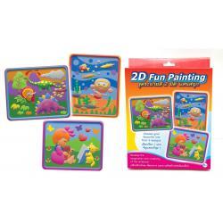 ชุดระบายสีแฟนซี2มิติ (DIY 2D Fun Painting)