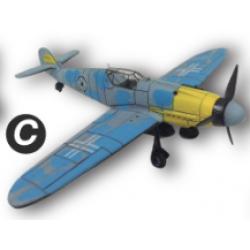 4D Model โมเดลเครื่องบินรบ รุ่น BF-109 แบบ C