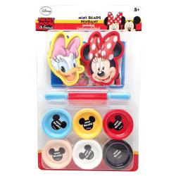 ชุดประดิษฐ์ป้ายห้อยเม็ดโฟมสี มิกกี้เมาส์ (Mickey Mouse Mini Beads Pendant)