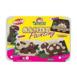 ชุดประดิษฐ์งานระบายสีทรายปั้น (D.I.Y Sandy Clay Colors- Painting)