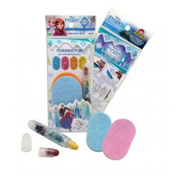Frozen Collection: Rubbing fun with Crayons [ชุดภาพฝนสีเทียน โฟนเซ่น