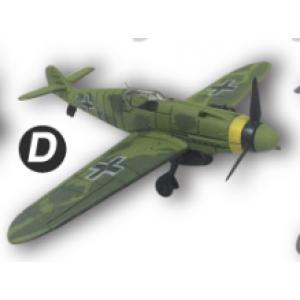 4D Model โมเดลเครื่องบินรบ รุ่น BF-109 แบบ D