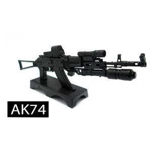โมเดลปืน 4D Model โมเดลปืนทหาร แบบ AK74