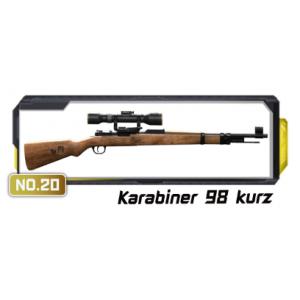 โมเดลปืน 4D Model โมเดลปืนทหาร Series 3 แบบ Karabiner 98 Kurz