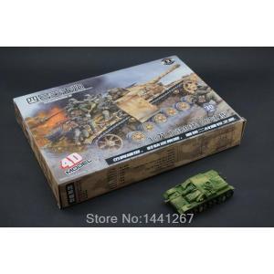 4D Model Tank: โมเดลรถถังรุ่นใหญ่- VI Ausf. E Tiger I