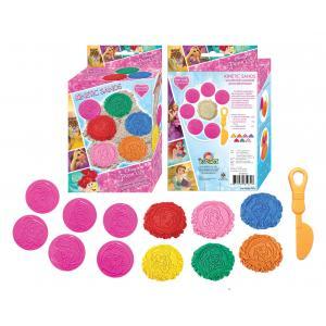 Disney Princess: Kinetic Sand Set [ชุดทรายสีมหัศจรรย์ + แม่เพิมพ์เจ้าหญิง