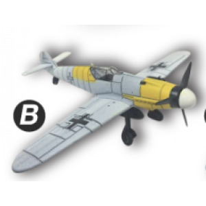 4D Model โมเดลเครื่องบินรบ รุ่น BF-109 แบบ B