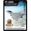 4D Model โมเดลเครื่องบินรบ ซีรีย์ 3 รุ่น EF-2000 thumbnail 1