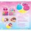 แป้งโดว์25กรัม 6 สี + แม่พิมพ์พริ้นเซส (Disney Princess Dough 25 g. Set) thumbnail 1