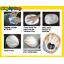 ดินธรรมชาติ : ชุดทำภาพมือ( D.I.Y. Air Hardening Clay: Momento Hand Print) thumbnail 2