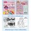 สีเทียนลายพริ้นเซสมาตรฐาน12สีเกรด A [ Disney Princess Regular Crayons ] thumbnail 2