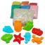 ทรายปั้นธรรมชาติ 1000 g + แม่พิมพ์ (Ocean Collection Dynamic Sand 1000 g. 6 Colors + 8 Molds) thumbnail 2