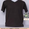 E.เสื้อยืด เสื้อt-shirt คอวี สีเทาดำ ไซค์ขนาด 32 นิ้ว