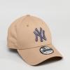 หมวก NEW ERA 9Forty Cap NY สีเบจ โลโก้เทา